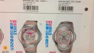 CASIO Megazine Rough Review #6 - ultimate force, vintage g-shock, baby-g, etc
