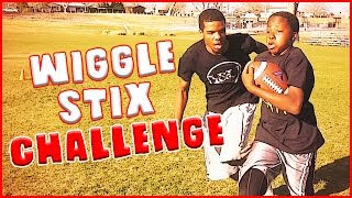 THE WIGGLE STIX CHALLENGE REMATCH - IRL Football Challenge