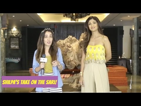 Xxx Mp4 Shilpa Shetty Talks About Her Love For The Sexy Sari 3gp Sex
