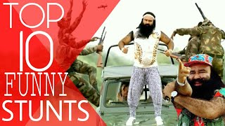 TOP 10 Funny Stunts 😂😂😂 by RAM RAHIM SINGH.