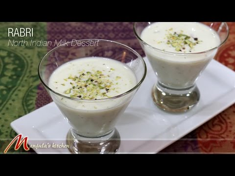 Rabri - North Indian Milk Dessert by Manjula