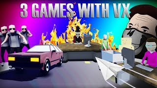 OS JOGOS MAIS ESTRANHOS DO MUNDO! 🚫 | 3 Jogos com Vx