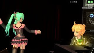 【Project DIVA Arcade Future Tone】on the rocks [qinecat's Len x Miku Cover & (My) Compilation]