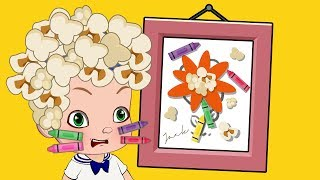 How to Draw Cartoons Animation Learning Video for Children, Finger family Nursery Rhymes Songs