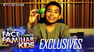 Your Face Sounds Familiar Kids Exclusive: Celebrity Kid Performers get to know their veggies