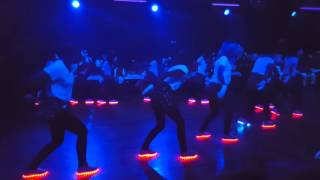 LED Schuhe Tanz Choreographie - dance shoe light Fasching Dachwig