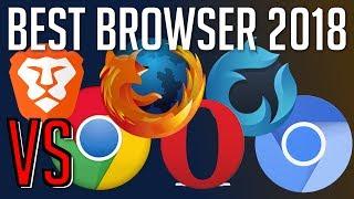 Brave vs Chrome vs Firefox vs Opera vs Waterfox vs Chromium | Best Web Browser 2018?