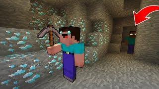NOOB VS HEROBRİNE #2 - Elmas Madeni (Minecrafft)