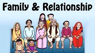 Learn Family Relations Names | Family Members For Kids | Preschool Learning Videos For Children