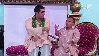 Amanat Chan and Zafri Khan  Aashiq China Made  New Pakistani Stage Drama Full Comedy Clip