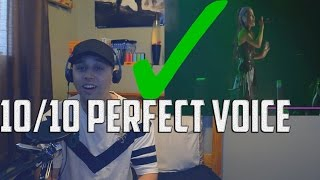 ARIANA GRANDE REAL VOICE (WITHOUT AUTOTUNE) (REACTION)