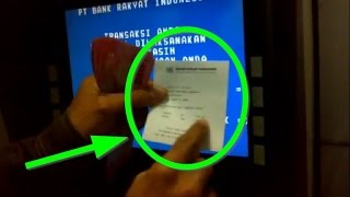 PANDUAN PEMULA | Cara Penggunaan Kartu ATM BCA di Mesin ATM BRI (ATM BERSAMA)