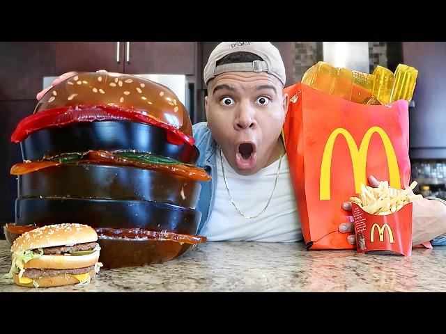 DIY Gigantisches McDonalds Weingummi (50+ kg)
