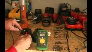 Repair/Revive/Recondition cordless tool batteries