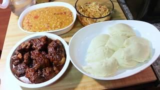 Sunday Dinner/ zambian food