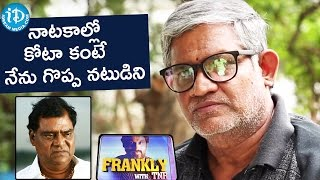 I'm A Great Actor Than Kota Srinivasa Rao - Tanikella Bharani || Frankly With TNR || Talking Movies