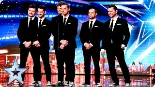 Fair Play Crew are dressed to impress   Week 2 Auditions   Britain's Got Talent 2016