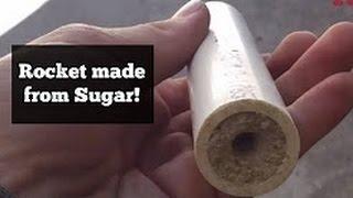 How To Make Sugar Rockets (KNO3) Hindi India
