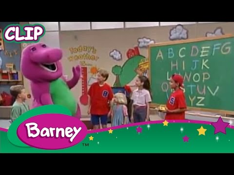 Barney ABCs Telling Time and Reading Learn Something New