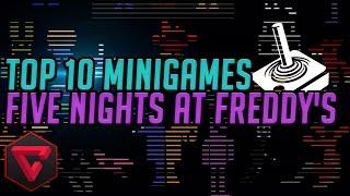 TOP 10 MINIJUEGOS | Five Nights at Freddy's 1,2 & 3 - FNAF Death & Win Minigames