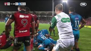 2017 Super Rugby Rd 4: Crusaders v Blues