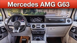 2019 Mercedes AMG G63 (577 HP): A New G Means New AMGs interior | suv | cargurus | car tv | top10s