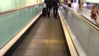KONE Travelator and Escalator at Heathrow Terminal 3