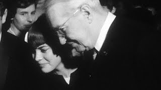 Mireille Mathieu et Maurice Chevalier à Gstaad (1967)