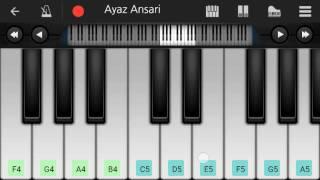 Barish (Half Girlfriend) Easy Mobile Piano