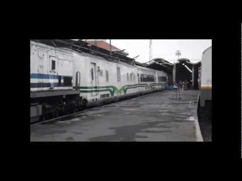 KA 2 Argo Bromo Anggrek Departed from Semarang Tawang Station