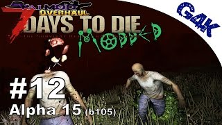 7 Days To Die Modded   7th Day Horde - Running with Knifes   S05E12