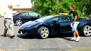 Poop on Lamborghini Prank Gone HORRIBLY WRONG!