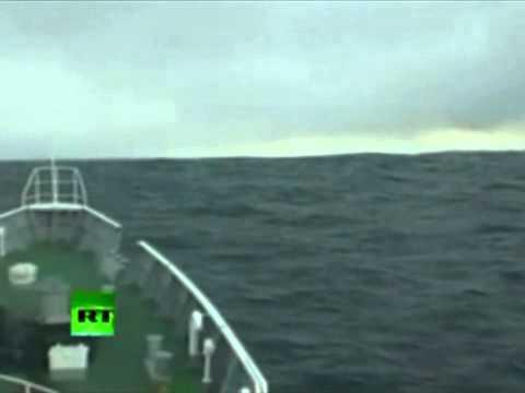 El buque que desafió al tsunami