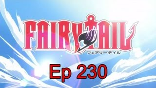Reaction to Fairy Tail Ep 230 - Whoa! Awesome!