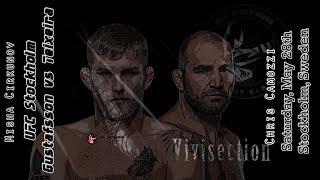 The MMA Vivisection - UFC Stockholm: Gustafsson vs. Glover picks, odds, & analysis