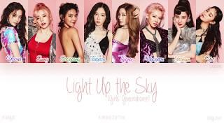 [HAN|ROM|ENG] Girls' Generation (소녀시대) - Light Up the Sky (Color Coded Lyrics)