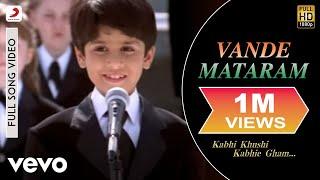 Usha Uthup, Kavita Krishnamurthy - Vande Mataram (Full Song Video)