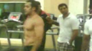 Salman Khan's Unseen Body Building Video During Veer