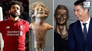 Fans Mock Mohamed Salah Statue & Compare It To Cristiano Ronaldo Bust