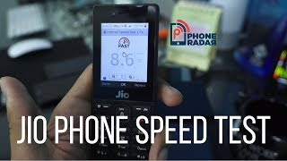 Reliance JioPhone Speed Test - What's Your Jio 4G Speed? ➡ PhoneRadar