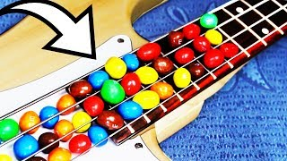 Eminem played with M&M's