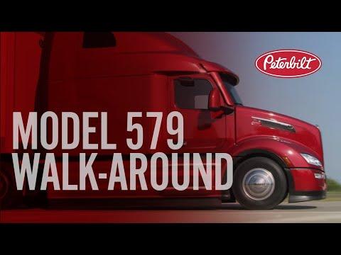 Peterbilt s New Model 579 Walk Around