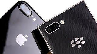 iPhone 7 Plus vs BlackBerry Key2 Speed Test!