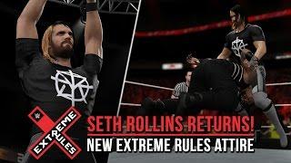 WWE 2K16: Seth Rollins Return Attire! (PS4/XB1)