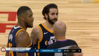 "Ricky Rubio Epic Flop Jimmy Butler Says ""SHUT THE F**K UP!"""