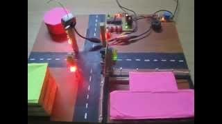 Automatic Traffic Lights with Video Capture for Red Signal Crossing