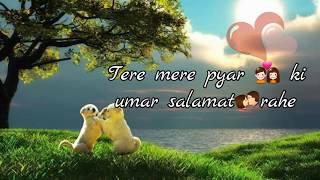 💞tere mere pyar ki umar: Arijit singh : sad : love WhatsApp status video 2017 Full HD💞
