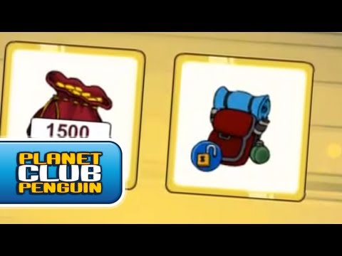 Club Penguin Novo Item desbloqueável do Club Penguin Agosto 2012