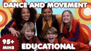 Dance Songs for Kids | 95 Mins of Educational Kids Songs | Nursery Rhymes-