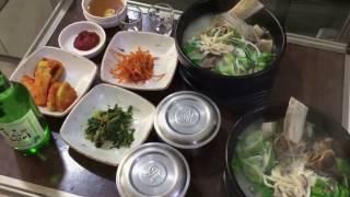 CUỘC SỐNG Ở HÀN QUỐC:MAKING YUKGAEJANG AND GALBI TANG AT KOREAN.LÀM THÊM Ở HÀN QUỐC 육개장 과갈비탕 끓이는법